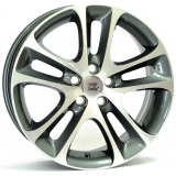 Диски WSP Italy NIGHT VL55 W1255 ANTHRACITE POLISHED 7,5x18 / 5x108