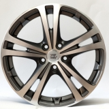Диски WSP Italy DANUBIO SK02 W3502 ANTHRACITE POLISHED 7,0x17 / 5x112