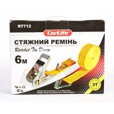 Carlife RT712  Ремінь стяжний 3т, 6м