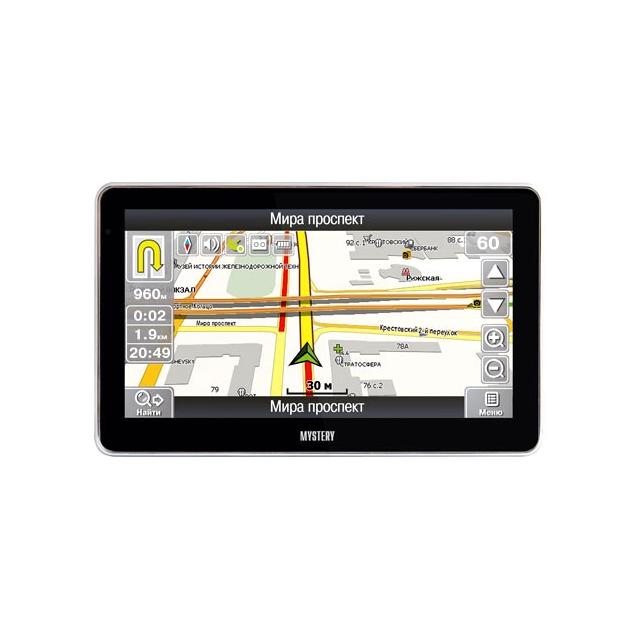"""Всё для авто - Навигатор Mystery MNS-640MP 6"""" 480x272 2Gb microSD черный Navitel."""